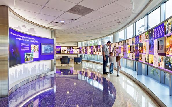 Hospital lobby exhibit lauren loprete product designer for Office design exhibitions
