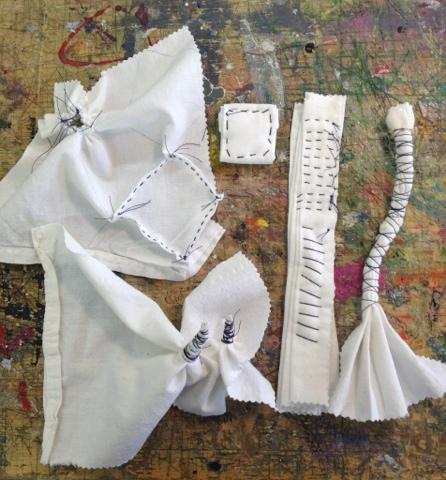 tie dye folding techniques instructions