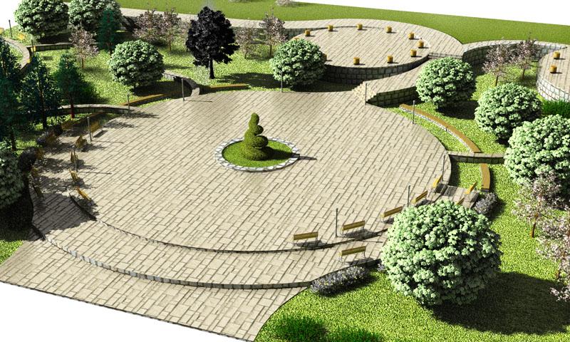 Landscape Design Project Public Garden