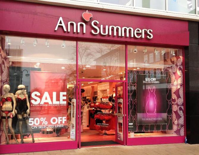 Ann Summers Windows Jenny Moorcroft